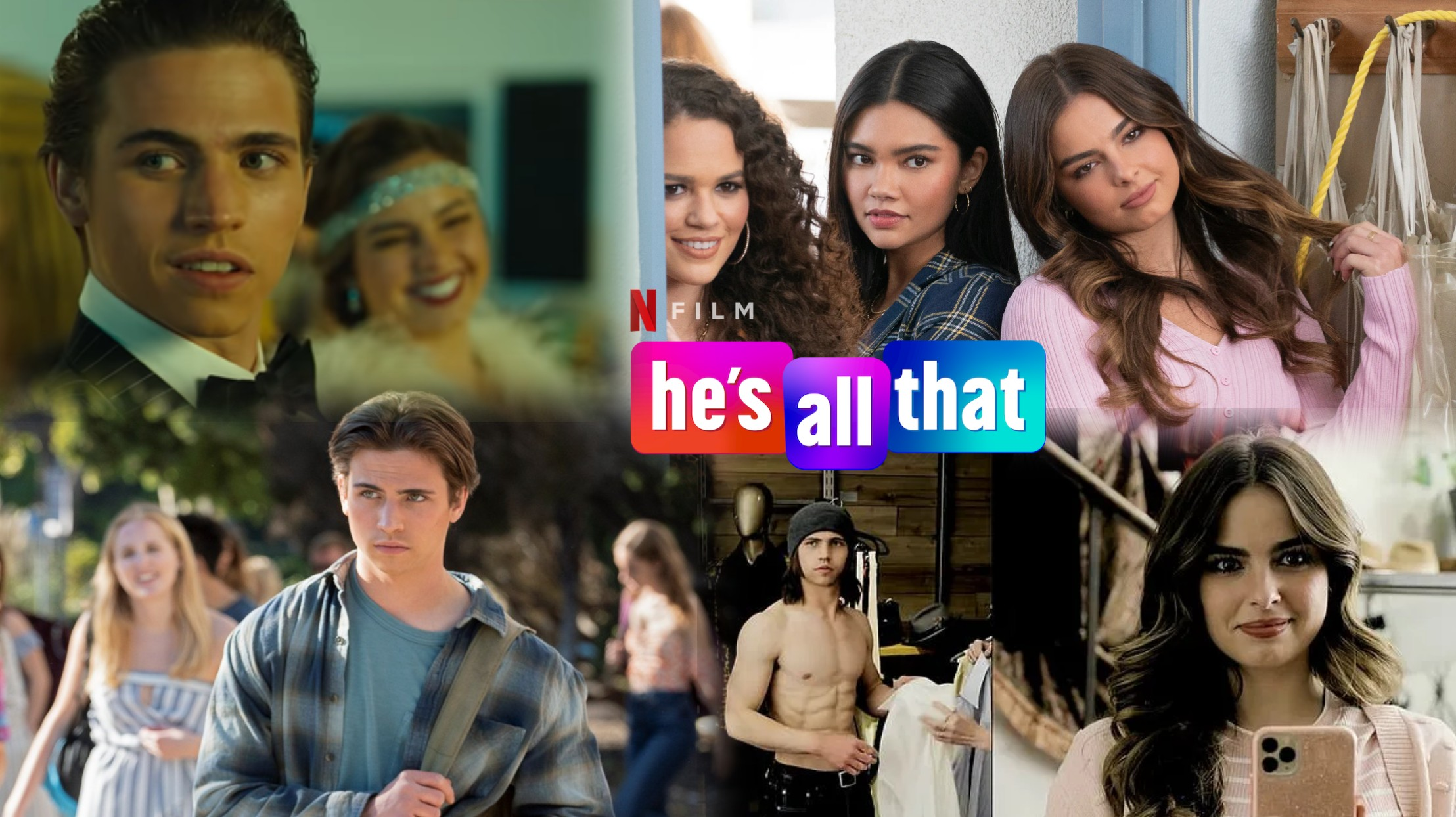 review he's all that featured